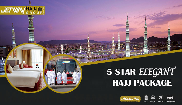 5star Elegant Hajj Package - 40 days