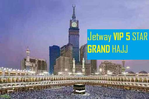 5 star Grand Hajj Package - 14 days